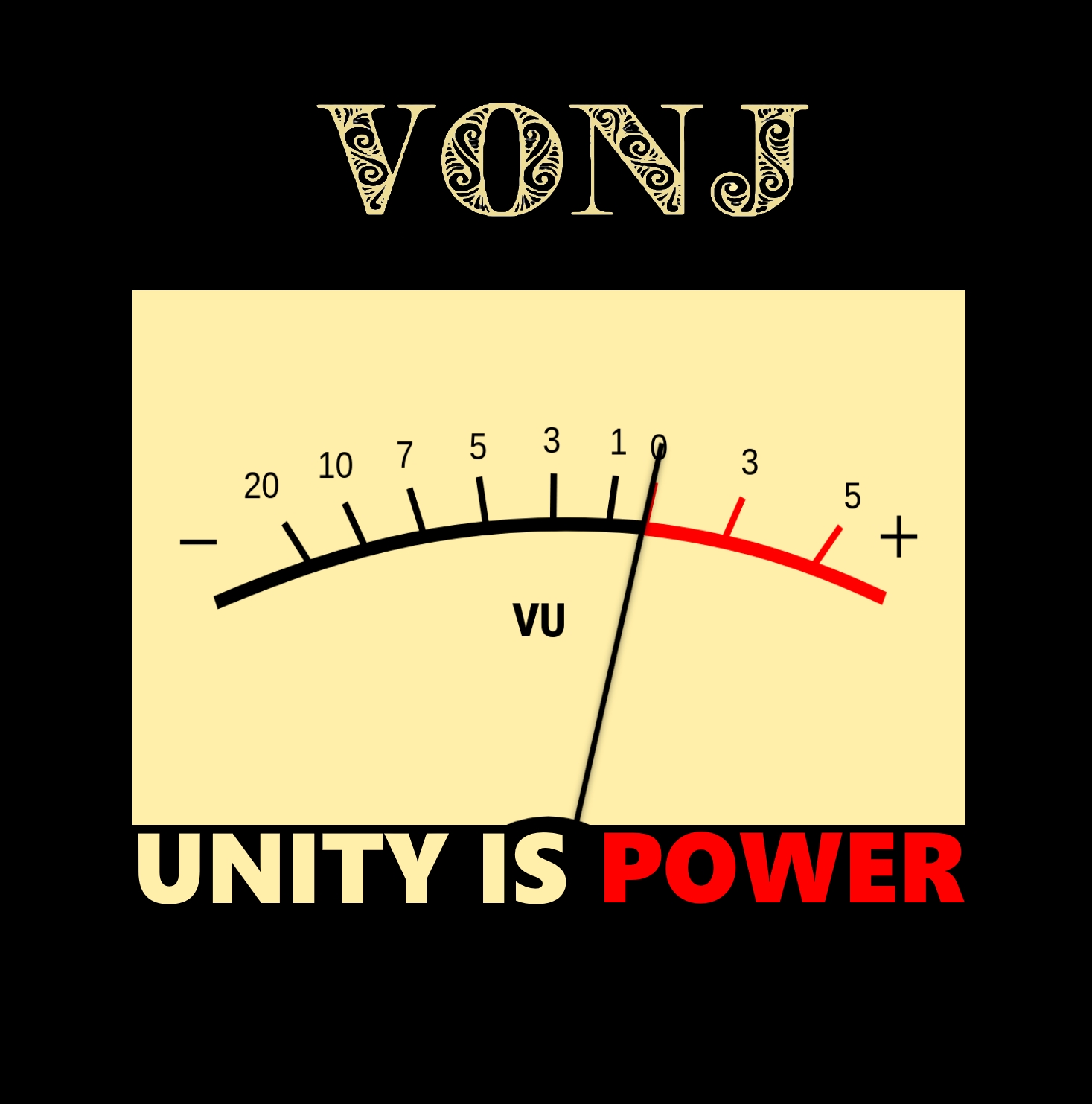 VONJ - UNITY IS POWER COVER